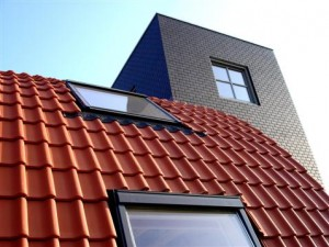 gebogen dak
